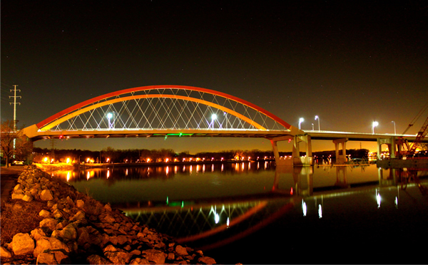 Hastings Minnesota Bridge over the Mississippi