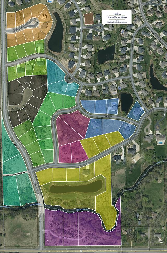 Wyndham Hills Hot Spot Plat Map